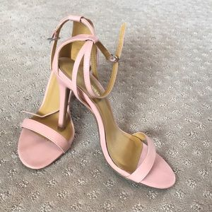Shoes - Pink strappy heels